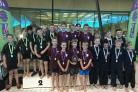 Tockington Manor's squad for the National 8x25m Swimming Champions 090618