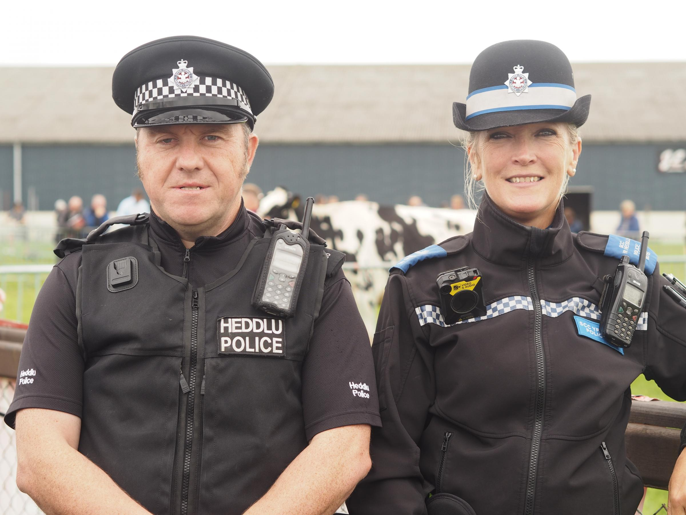 Meet Pembrokeshire's rural crime team: PC Gerwyn Davies and PCSO Jude Parr.