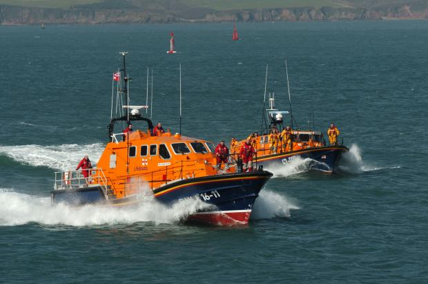Angle welcomes new Tamar lifeboat