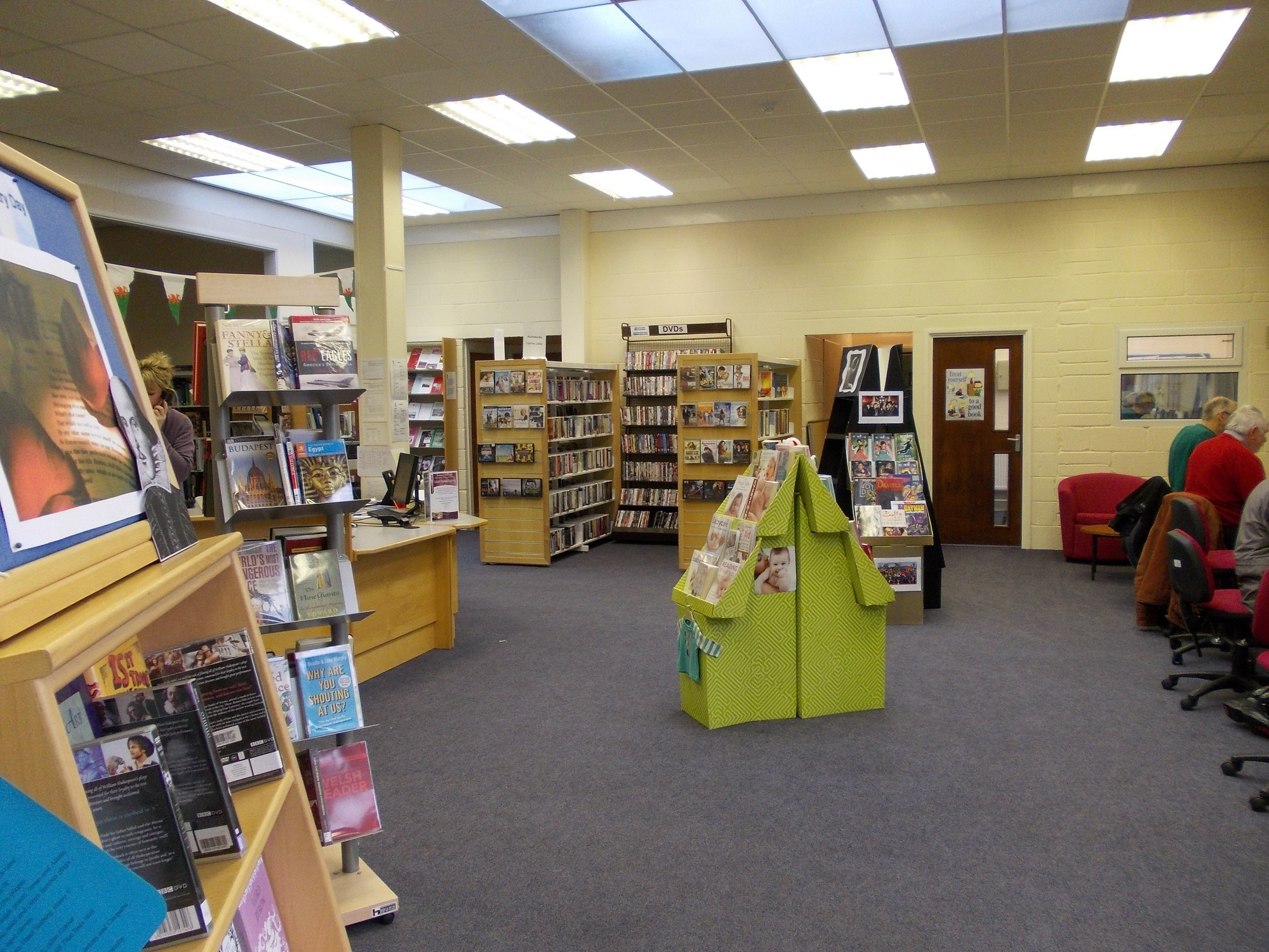 Haverfordwest library will move later this month.