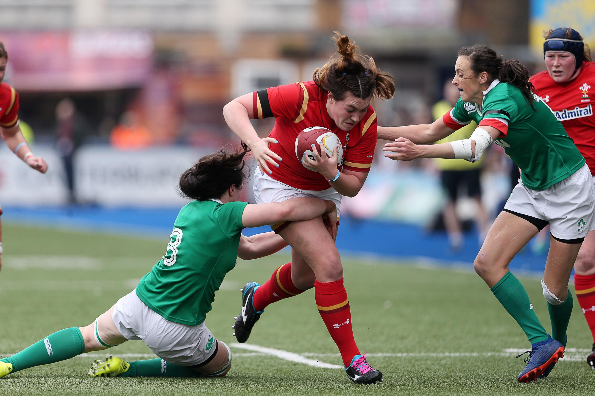 TOP PROP: Dragons forward Cerys Hale has been selected for Wales