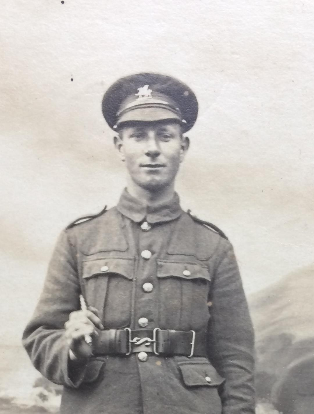 Thomas Evan Roach, who was killed on the last day of the First World War.