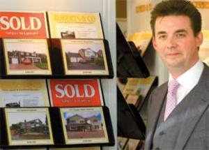 Western Telegraph: CONFIDENCE IS UP: Mark Roberts, managing director of Roberts and Co estate agents