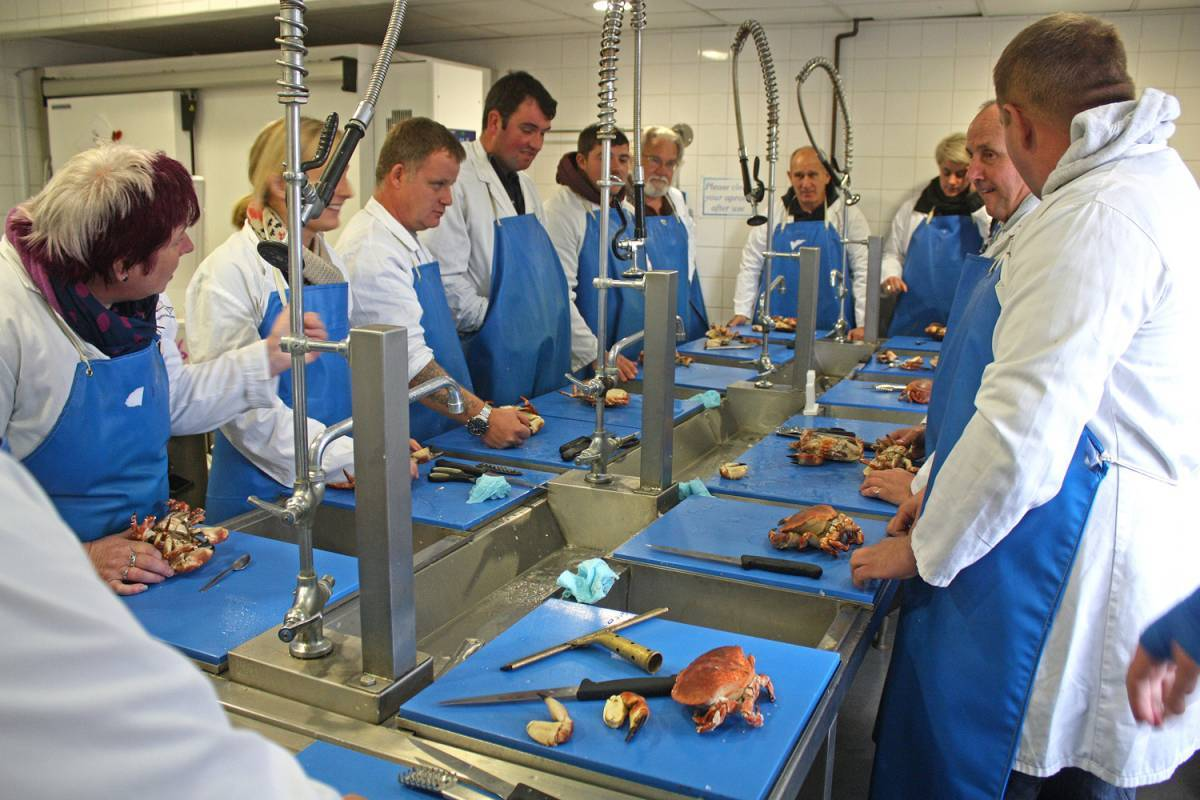 A Seafood Cluster workshop will be held in Milford Haven in December