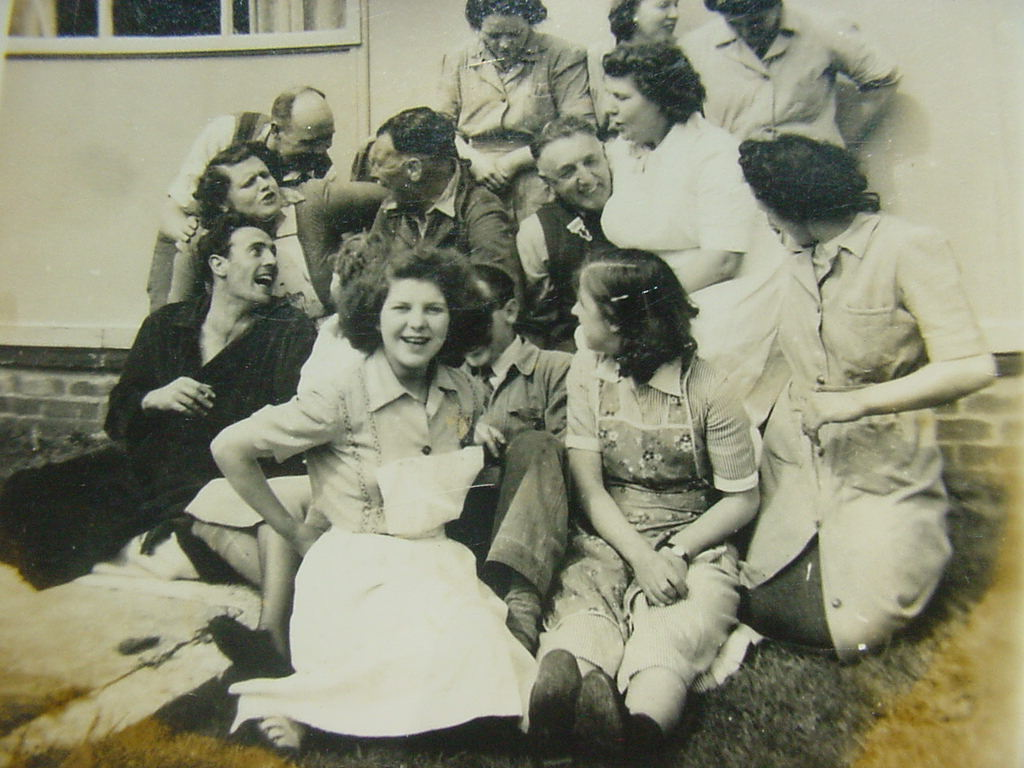 Withybush hospital staff 1951.