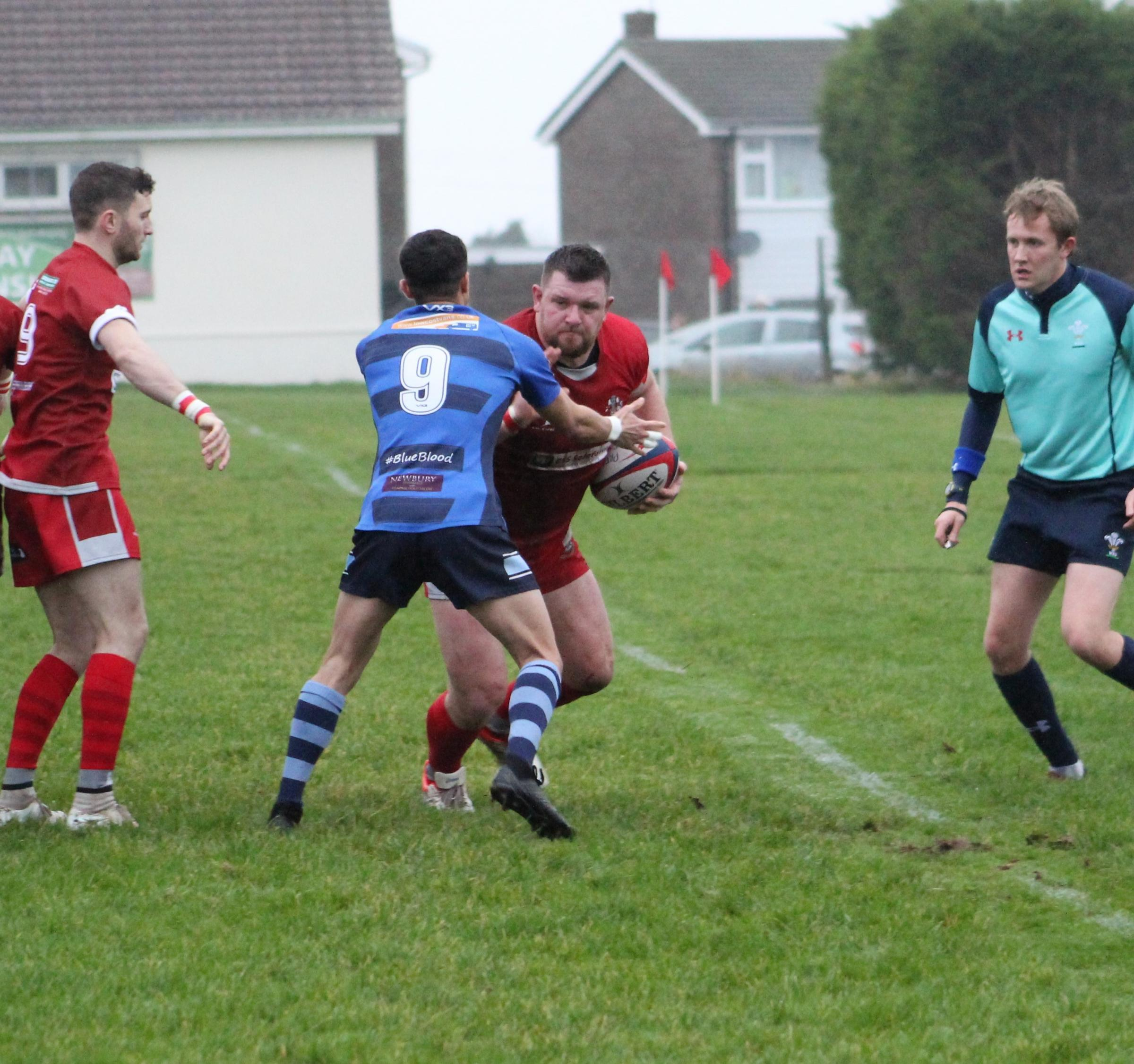 Sam Smith scored two tries for Pembroke. PICTURE: Daf Palmer.