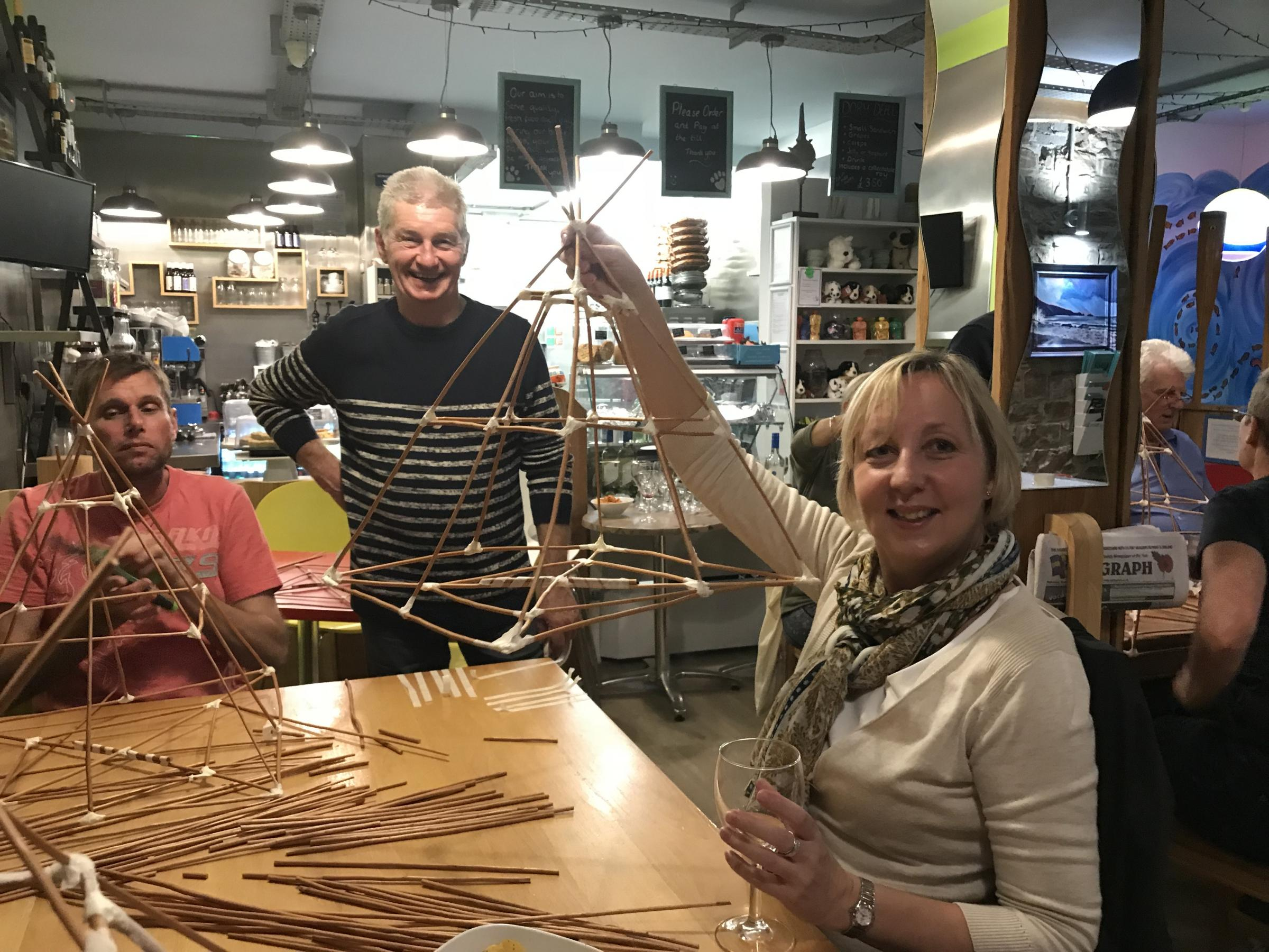 Saundersfoot's lantern-making workshops will ensure that Friday's parade is all lit up..
