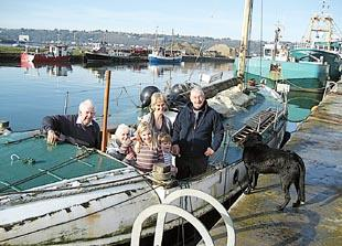 The 1909 Fishguard lifeboat, Charterhouse, will return home in June