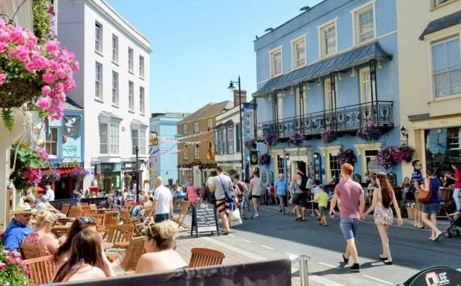 Resort's town centre car ban starts on Monday