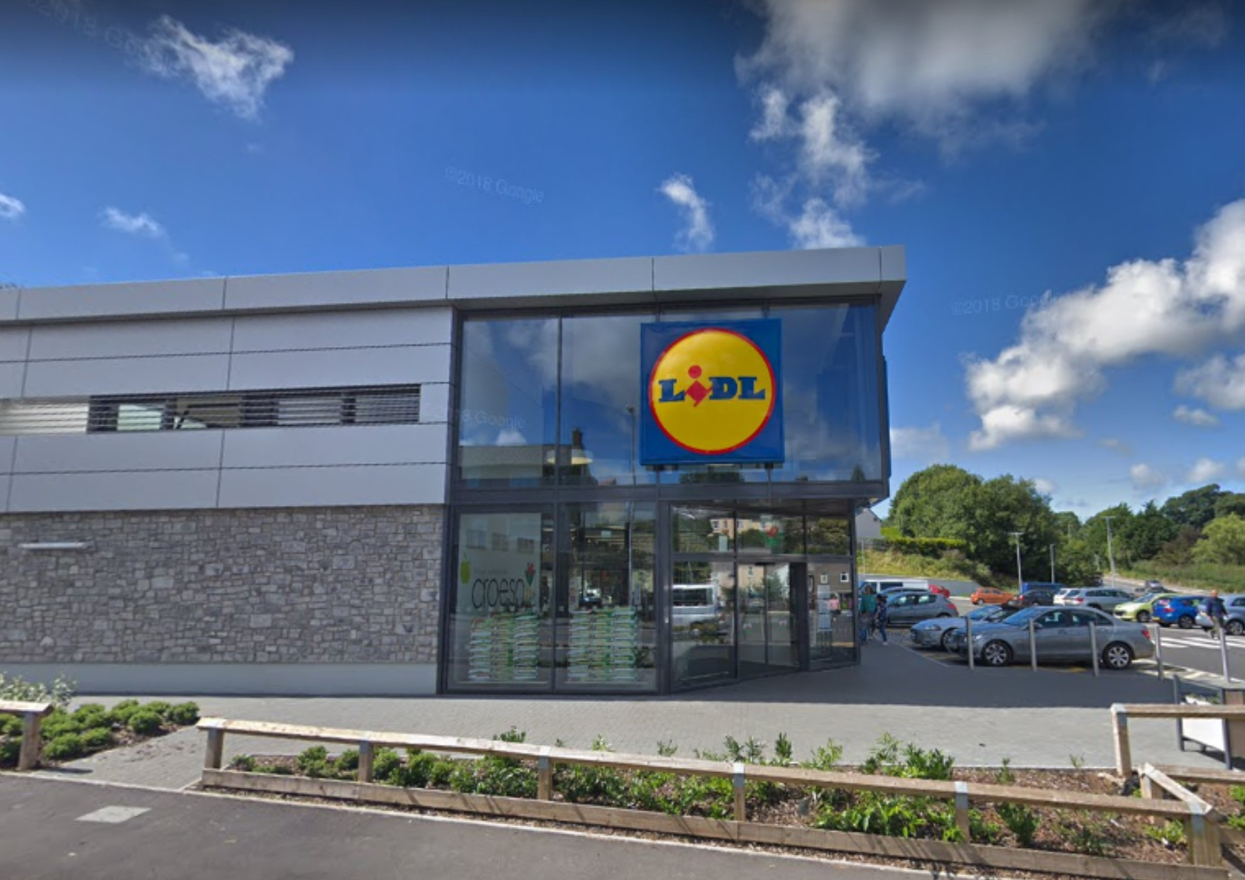 Lidl in Haverfordwest. PICTURE: Google.