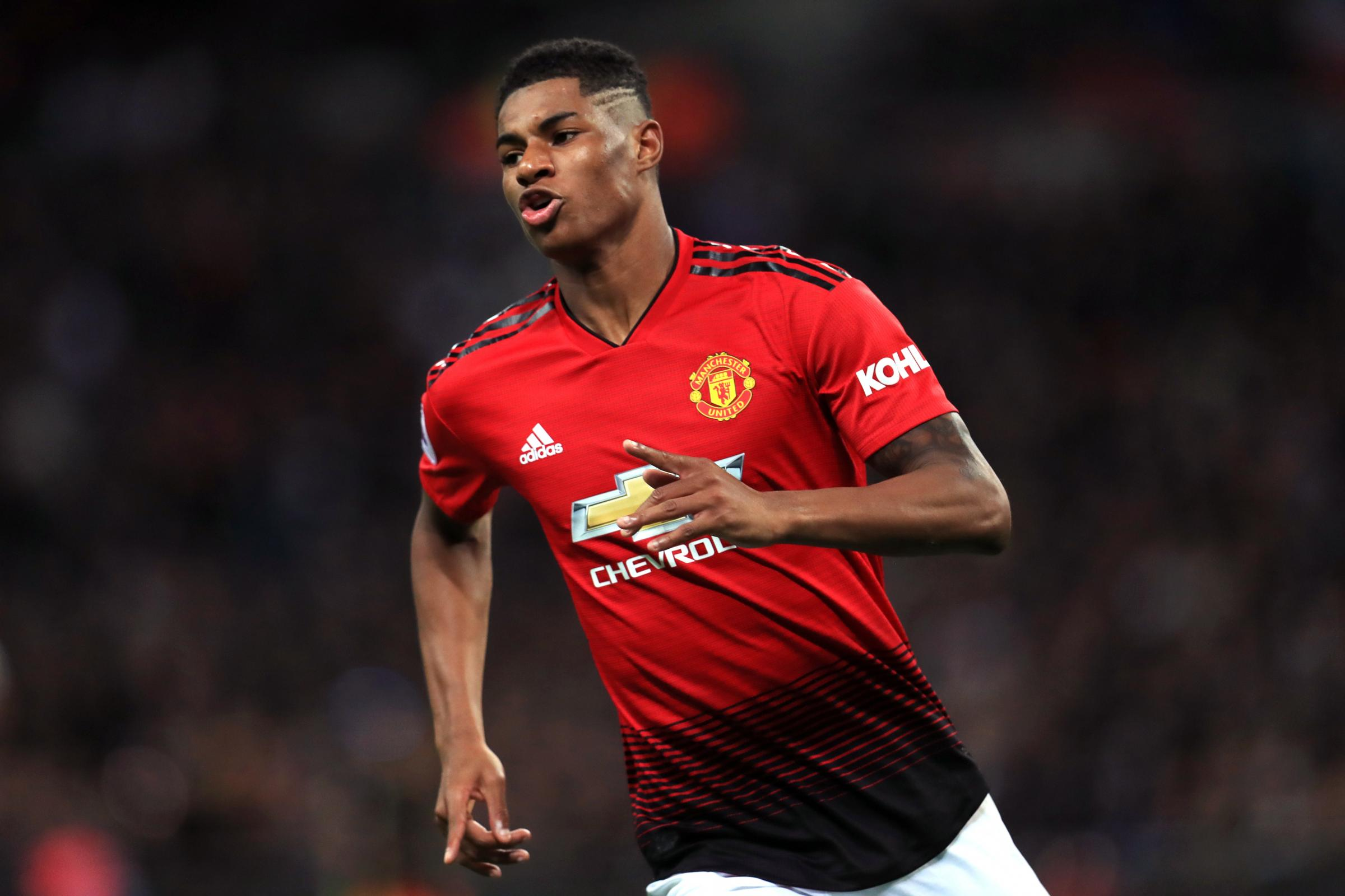 Marcus Rashford remains in favour with Manchester United