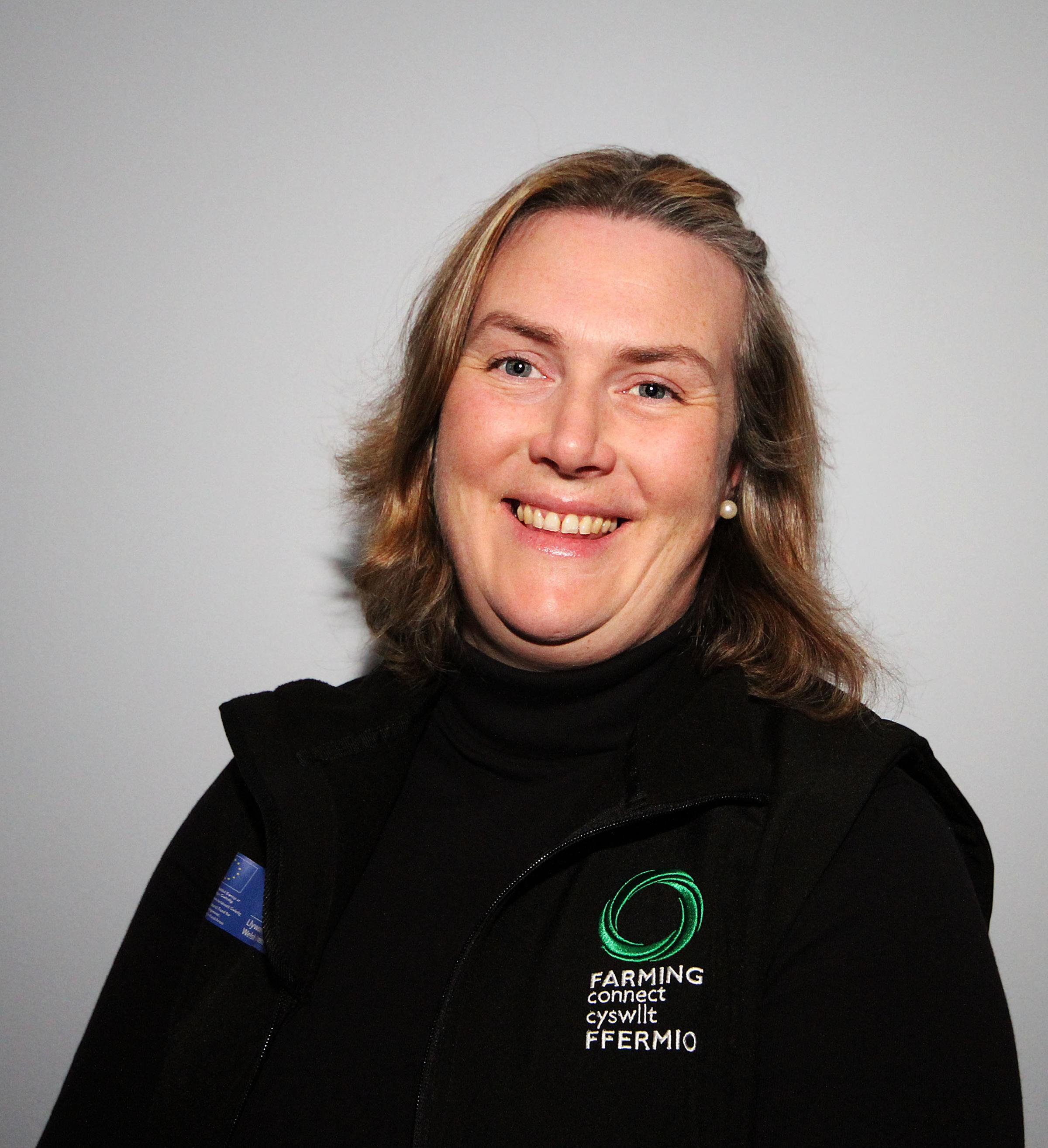 Susie Morgan, parming Connect's new development officer in south Pembrokeshire