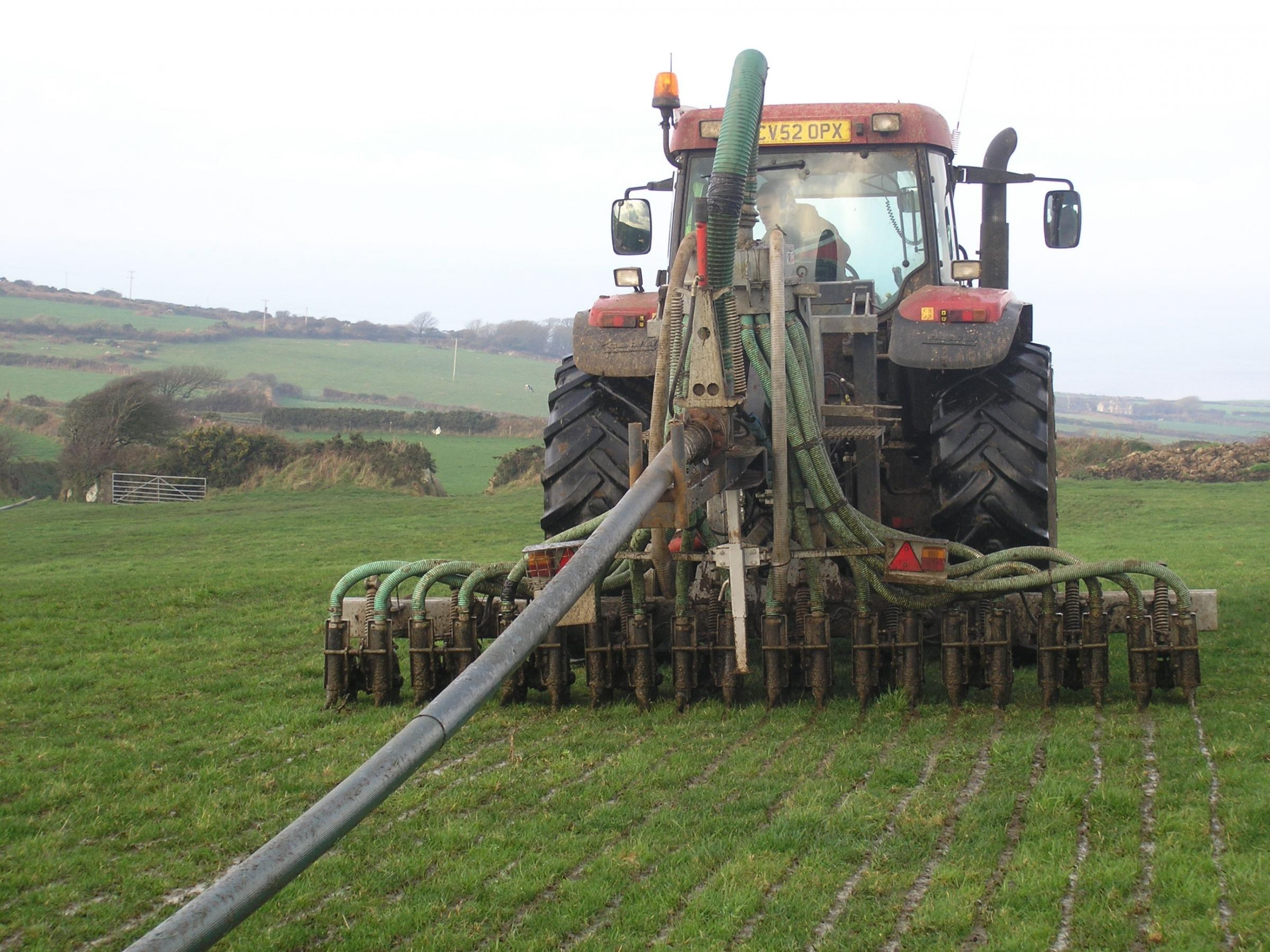 NFU Cymru is working on a farmer-led voluntary initiative to deliver on water quality requirements PICTURE: Debbie James