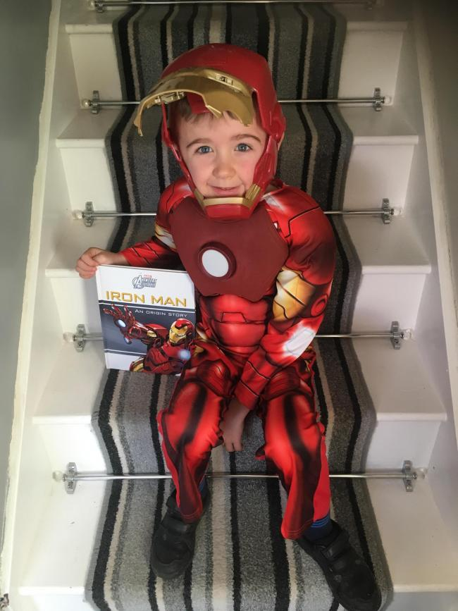 World Book Day  Charlie Tenby Pembrokeshire Ironman