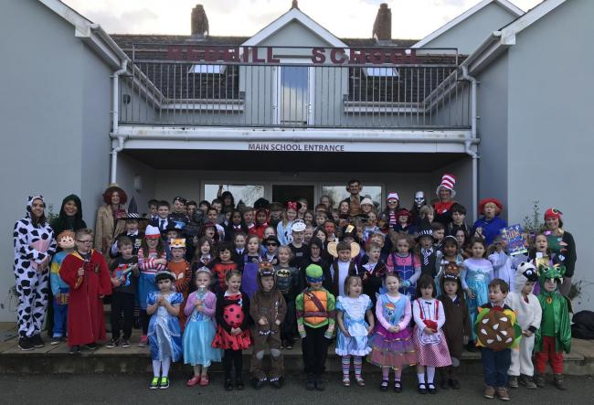 Redhill Preparatory School does World Book Day!