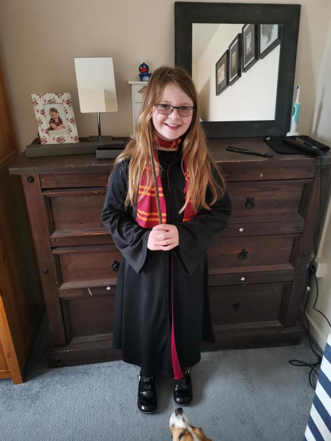 Olivia Gray Age 9 Hubberston Hermoine Granger from Harry Potter