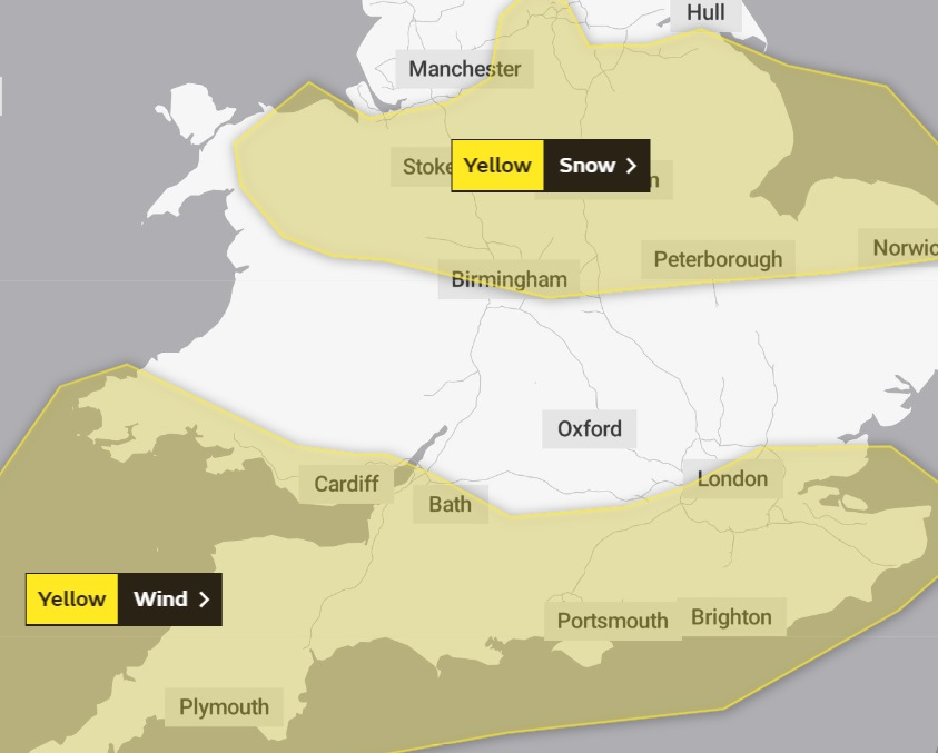 Wind warning as stormy weather heads for Pembrokeshire