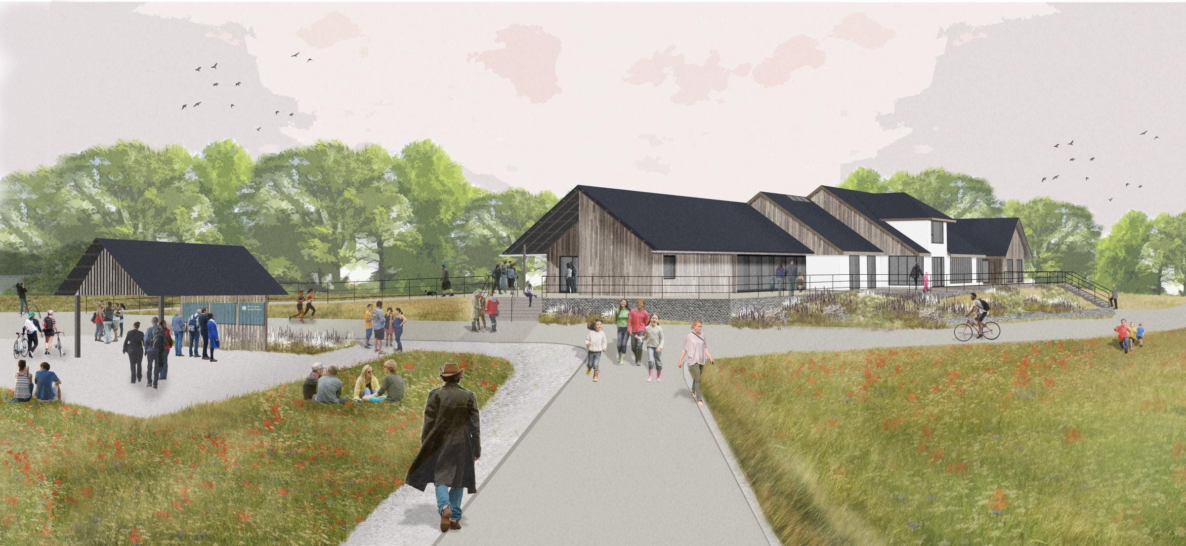 New contractors start work on Llys-y-Fran redevelopment