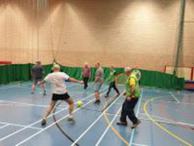 Fancy taking up walking football?