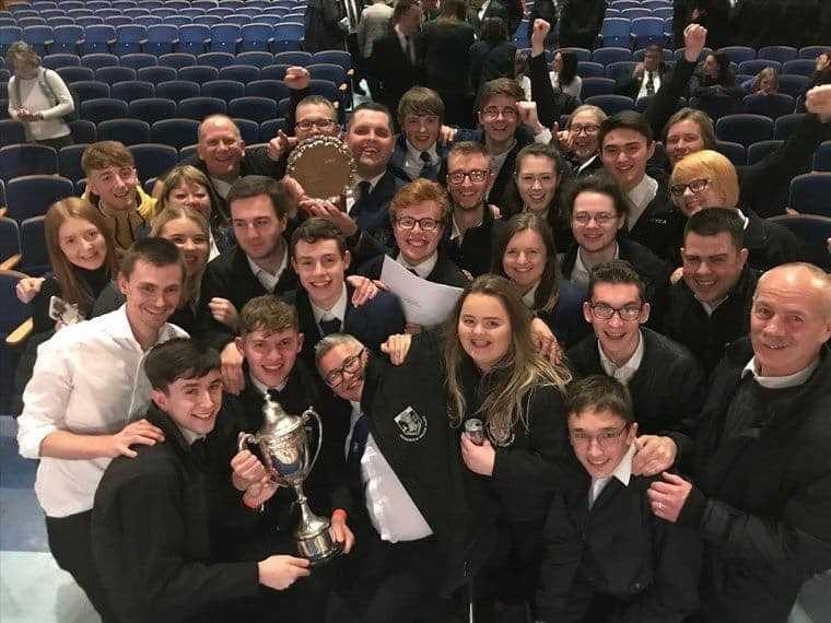 Victory for Goodwick Brass Band Welsh Regional First Section final