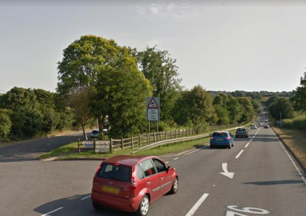 Western Telegraph: The A4076 approaching Johnston. PICTURE: Google Maps.