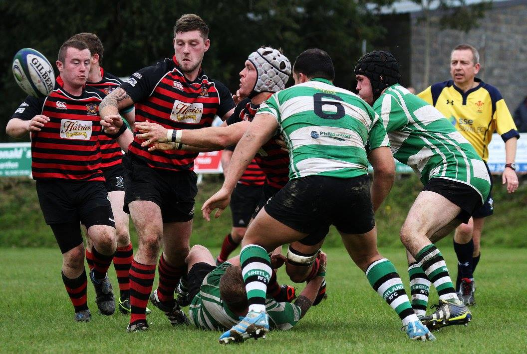 Whitland and Tenby do battle again tomorrow.