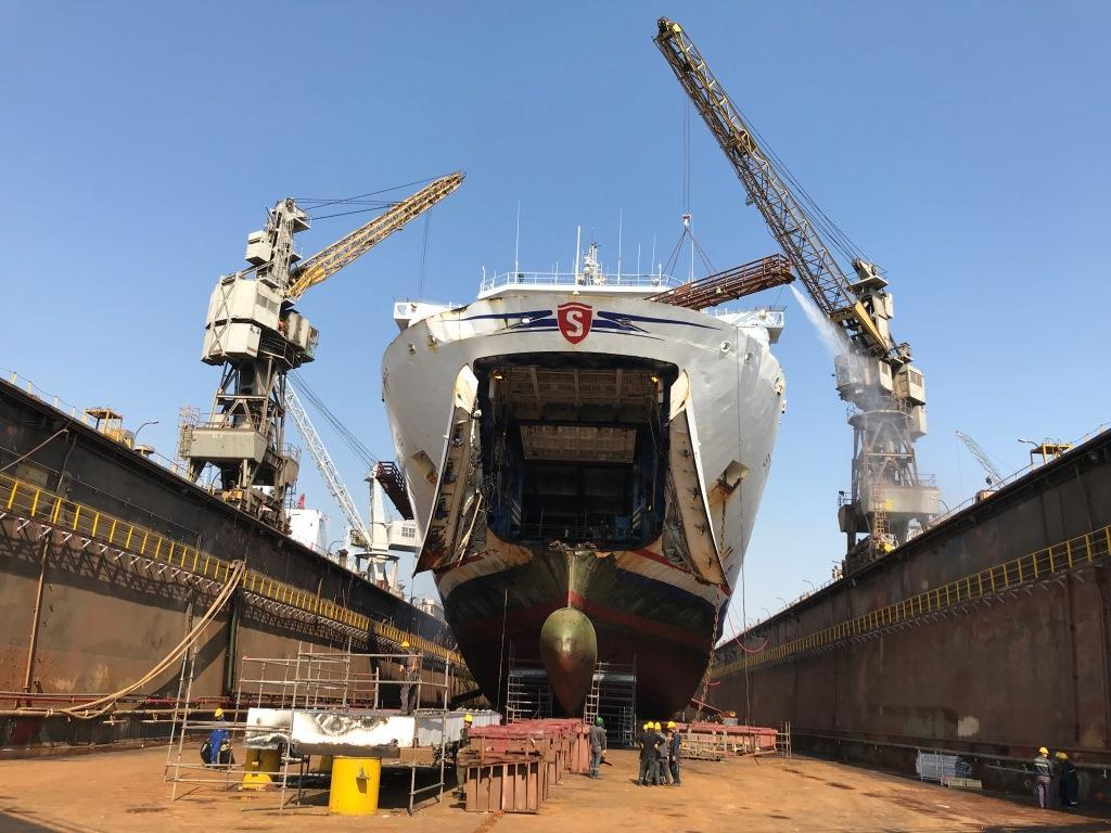 Turkey refit for Fishguard ferry