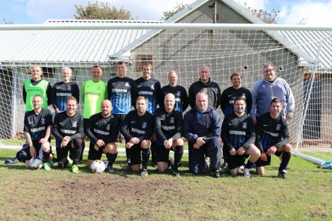 Hakin United Over 40s are into the final.