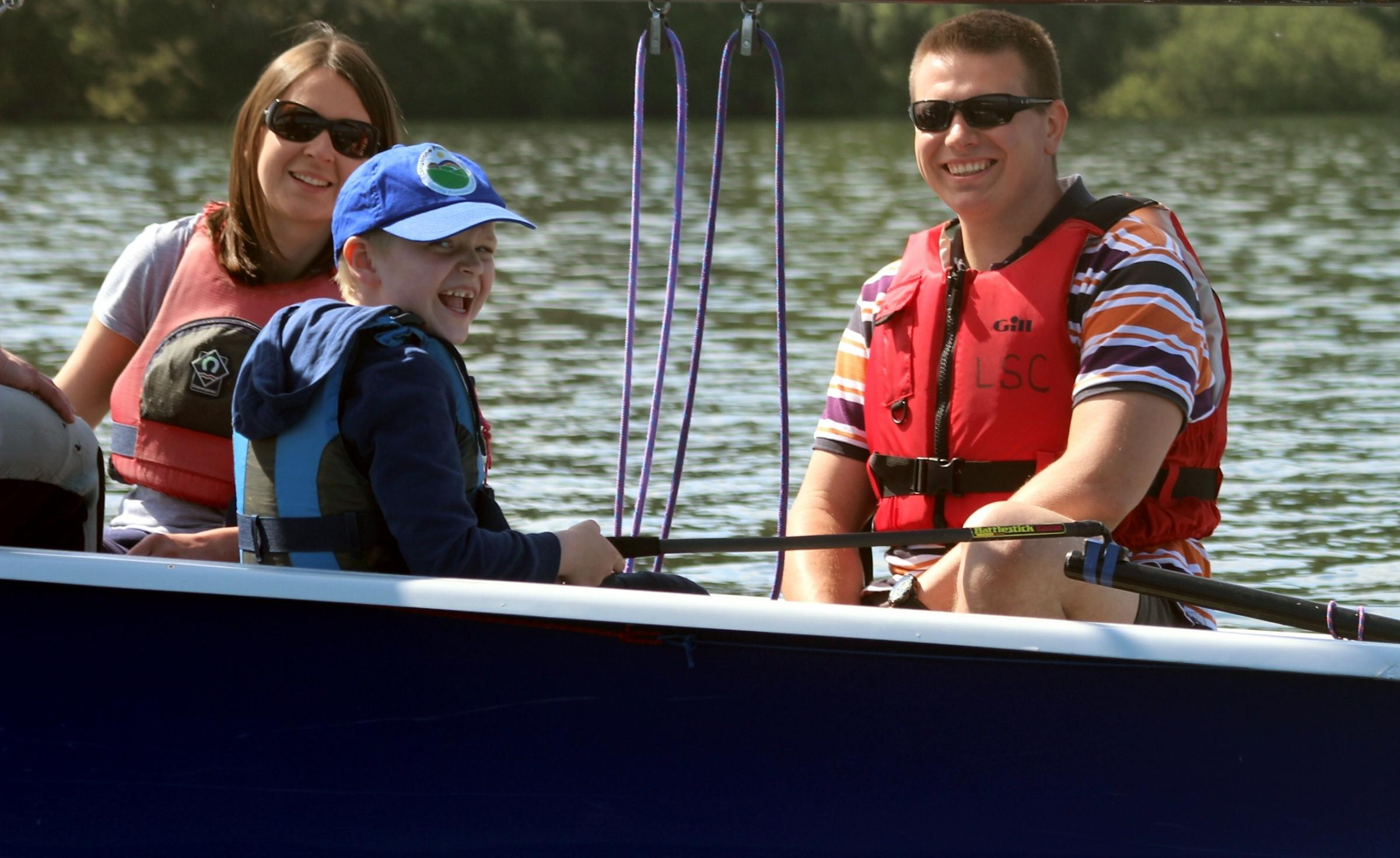 Push the Boat Out with free sailing sessions next month