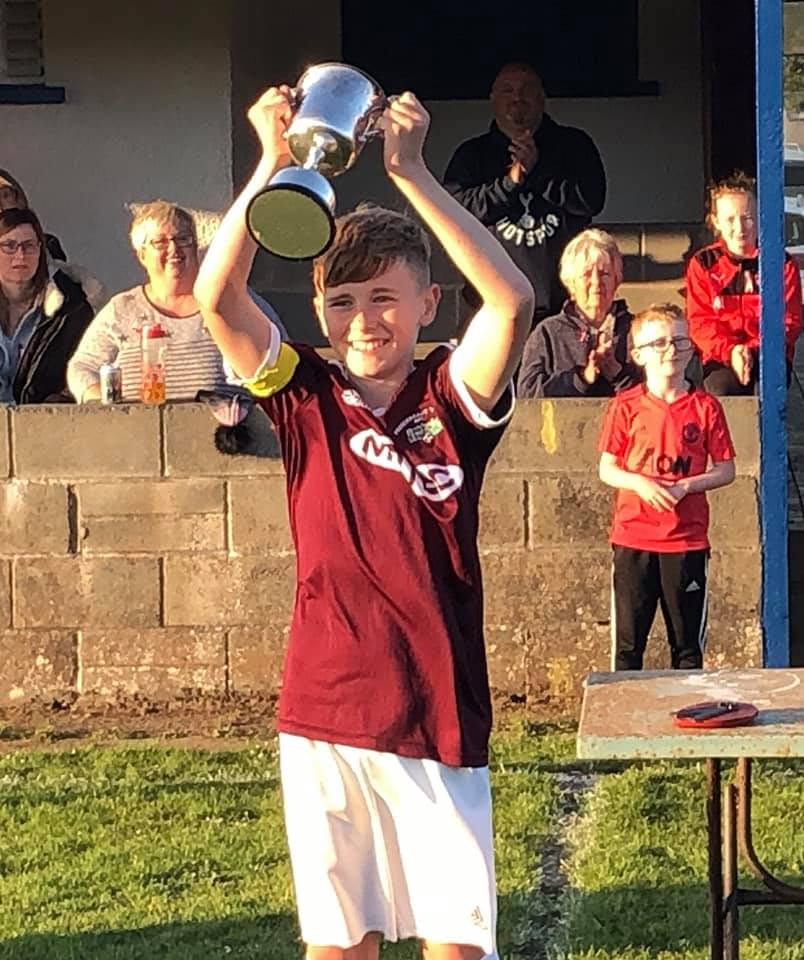 Captain Kyle strikes late as Prendergast Villa  13s edge out Milford United
