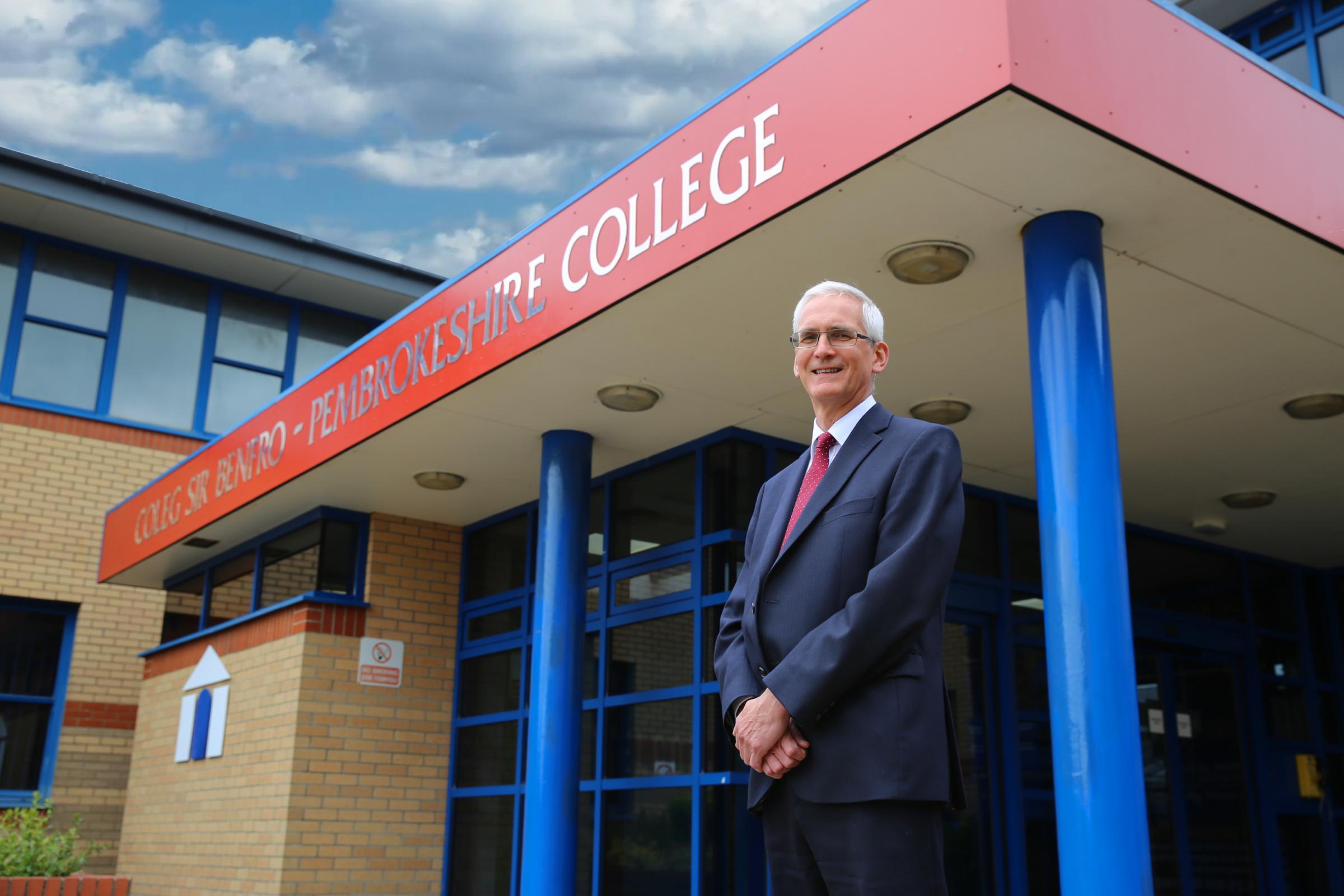 New principal at Pembrokeshire College
