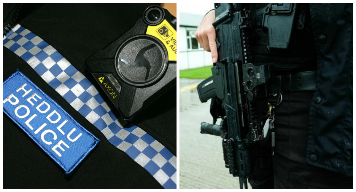Armed police called to Haverfordwest town centre