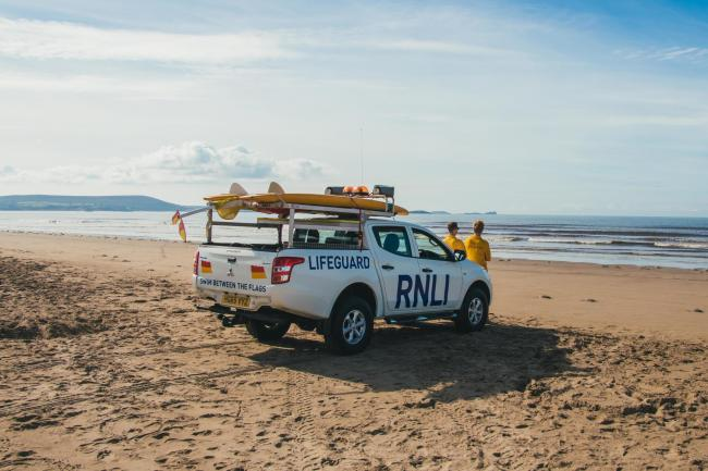 RNLI lifeguards will be on Tenby's South Beach, Newgale Central and Whitesands over half term.