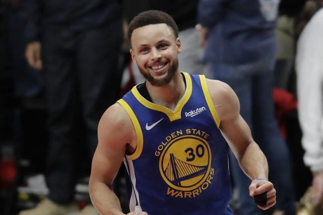 Golden State Warriors guard Stephen Curry helped his side into the NBA Finals