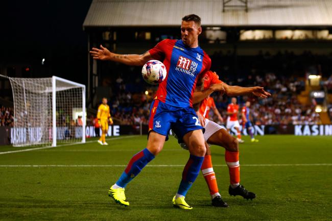 Crystal Palace striker Connor Wickham is looking to put his injury nightmare behind him after signing a new contract