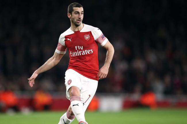 Arsenal's Henrikh Mkhitaryan will not be playing in the Europa League final