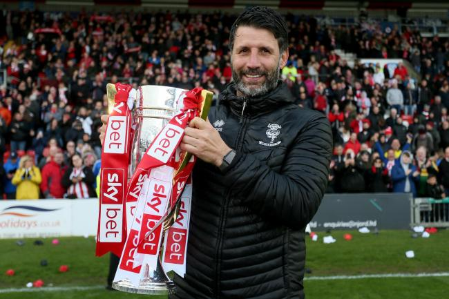 Lincoln manager Danny Cowley is one of four candidates for the West Brom job