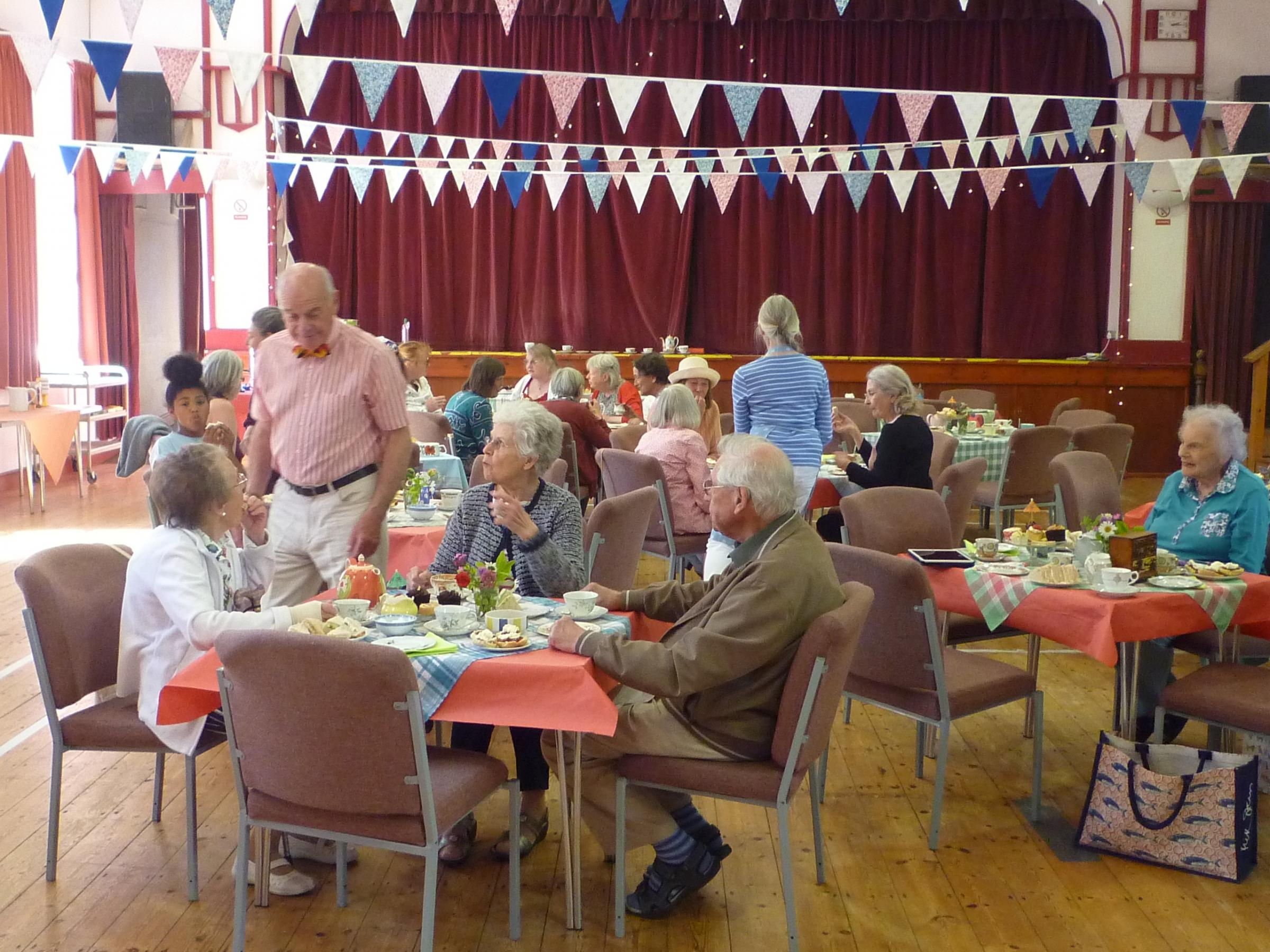 Old and young enjoy Newport's Age Cymru vintage tea party