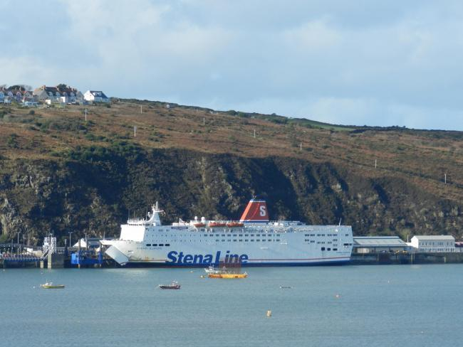 The Fishguard to Rosslare crossing is run by Stena. PICTURE: Western Telegraph