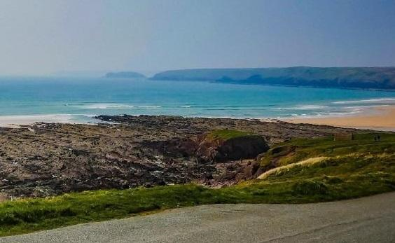 Freshwater West. PICTURE: Western Telegraph.