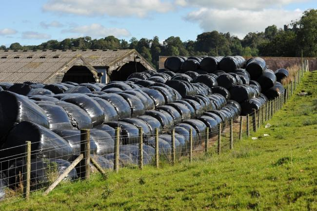 A potential waste plastics time-bomb is ticking on Welsh farms PICTURE: Debbie James